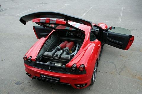Status Design Studio SD SU35 tuning kit for Ferrari 430 2