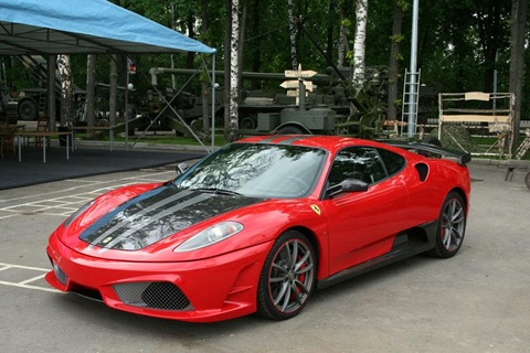 Status Design Studio SD SU35 tuning kit for Ferrari 430 7