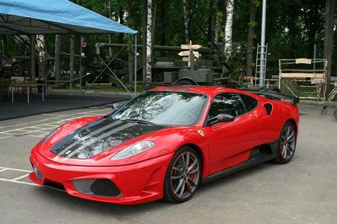 Status Design Studio SD SU35 tuning kit for Ferrari 430 7