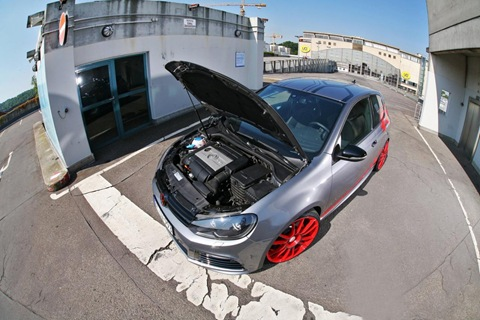 VW Golf VI R with 330 HP by Sport-Wheels 10