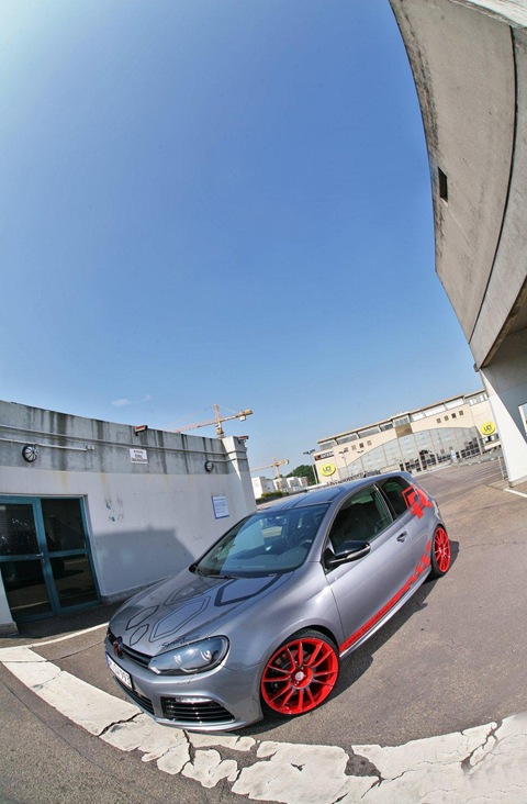 VW Golf VI R with 330 HP by Sport-Wheels 12