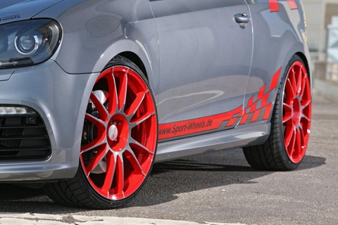 VW Golf VI R with 330 HP by Sport-Wheels 13