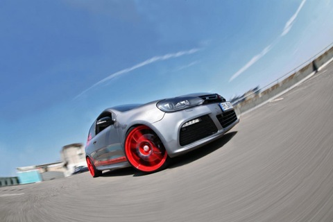 VW Golf VI R with 330 HP by Sport-Wheels 16