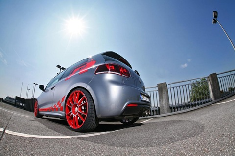 VW Golf VI R with 330 HP by Sport-Wheels 2