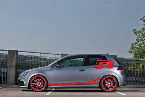 VW Golf VI R with 330 HP by Sport-Wheels 3