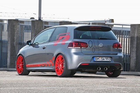VW Golf VI R with 330 HP by Sport-Wheels 4