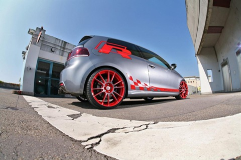VW Golf VI R with 330 HP by Sport-Wheels 8
