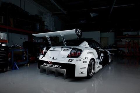 1100hp Scion tC AWD racer by Team NFS 1