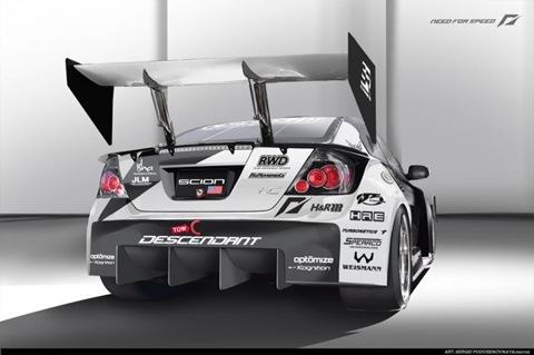 1100hp Scion tC AWD racer by Team NFS 4