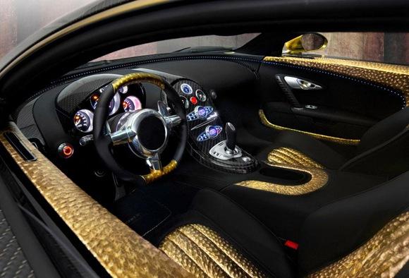 Mansory Bugatti Veyron Linea Vincero dOro 1