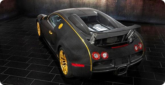 Mansory Bugatti Veyron Linea Vincero dOro 2