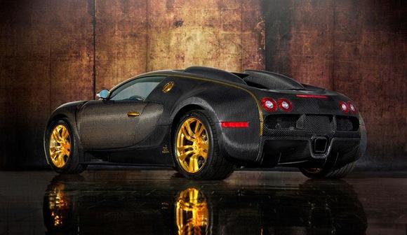 Mansory Bugatti Veyron Linea Vincero dOro 3