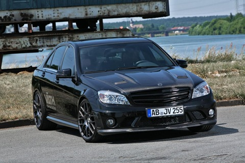 Mercedes C 250 CGI with VÄTH turbo kit 3
