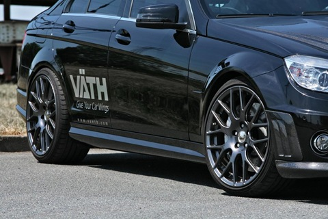 Mercedes C 250 CGI with VÄTH turbo kit 4