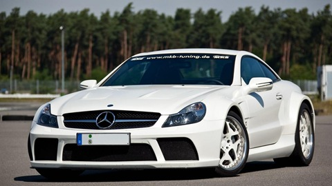 Mercedes SL 65 AMG Black Series by MKB 16
