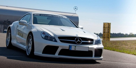 Mercedes SL 65 AMG Black Series by MKB 18