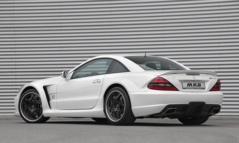 Mercedes SL 65 AMG Black Series by MKB 2