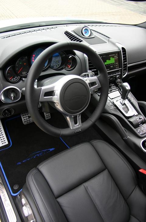 speedART Porsche Cayenne S speedHYBRID 450 2