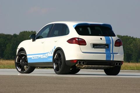 speedART Porsche Cayenne S speedHYBRID 450 7