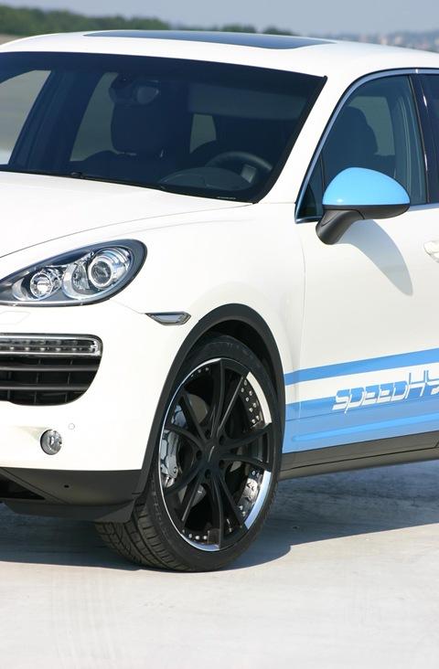 speedART Porsche Cayenne S speedHYBRID 450 8