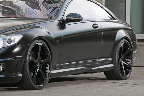 Anderson Germany Mercedes-Benz CL65 AMG Black Edition.  6
