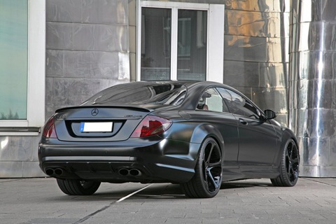 Anderson Germany Mercedes-Benz CL65 AMG Black Edition.