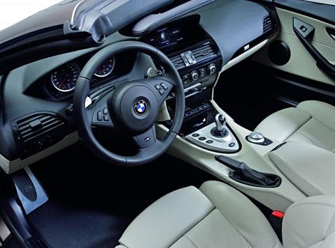 BMW M6 convertible 1