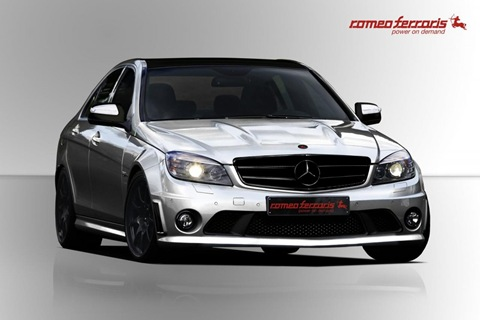 Mercedes C63 AMG by Romeo Ferraris 4