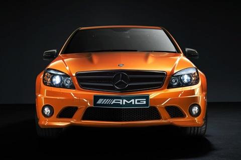 Mercedes Concept 358 based on C63 AMG 1