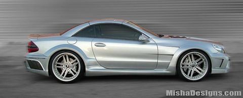 Mercedes SL-Class widebody by Misha Designs 1
