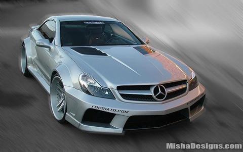 Mercedes SL-Class widebody by Misha Designs 2