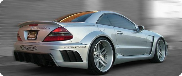 Mercedes SL-Class widebody by Misha Designs
