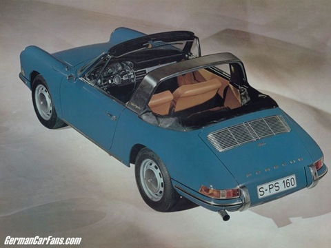 Porsche 911 2.0 Targa model year 1967