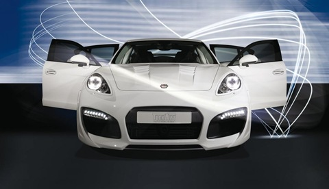 TECHART GrandGT based on Porsche Panamera 4