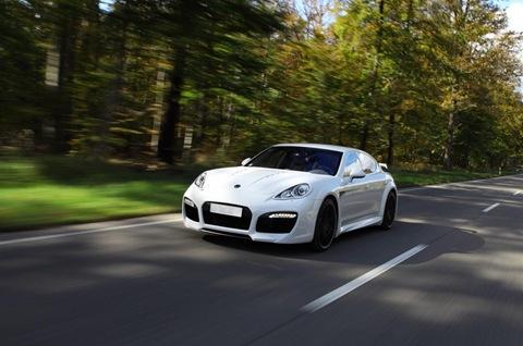 TECHART GrandGT based on Porsche Panamera 5