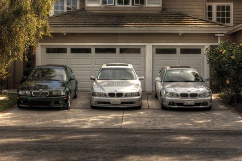 BMW M3 E46, 530i E39, 325Ci E46