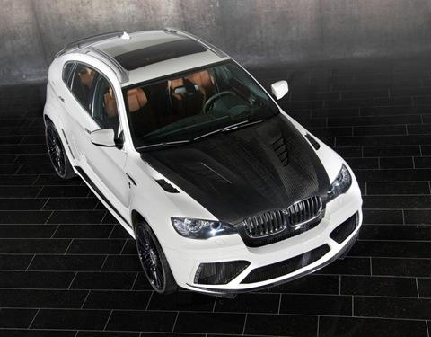 Mansory tunes the BMW X6 M 11