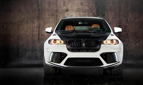 Mansory tunes the BMW X6 M 13