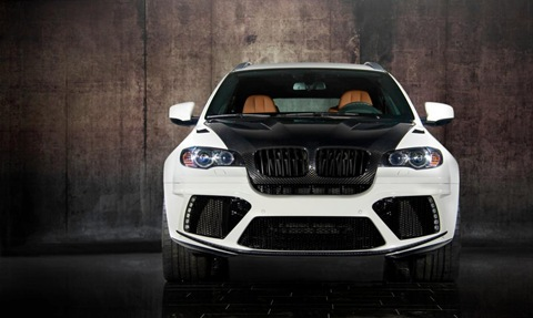 Mansory tunes the BMW X6 M 14