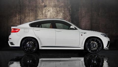 Mansory tunes the BMW X6 M 15