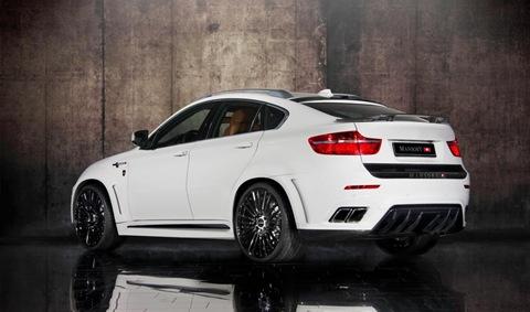 Mansory tunes the BMW X6 M 16