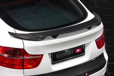 Mansory tunes the BMW X6 M 6