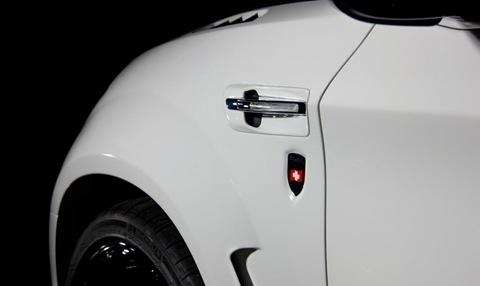 Mansory tunes the BMW X6 M 8