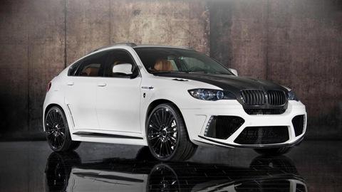 Mansory tunes the BMW X6 M