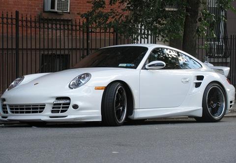 Techart Tuned Porsche 911 Turbo 1