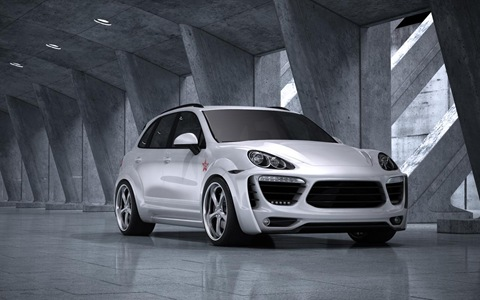 Porsche Cayenne Radical Star by Met-R 1