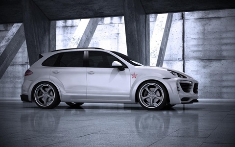 Porsche Cayenne Radical Star by Met-R 2