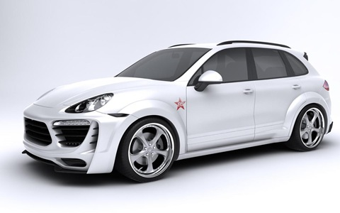 Porsche Cayenne Radical Star by Met-R 5