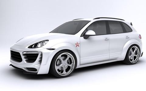 Porsche Cayenne Radical Star by Met-R 5