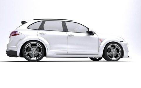 Porsche Cayenne Radical Star by Met-R 6
